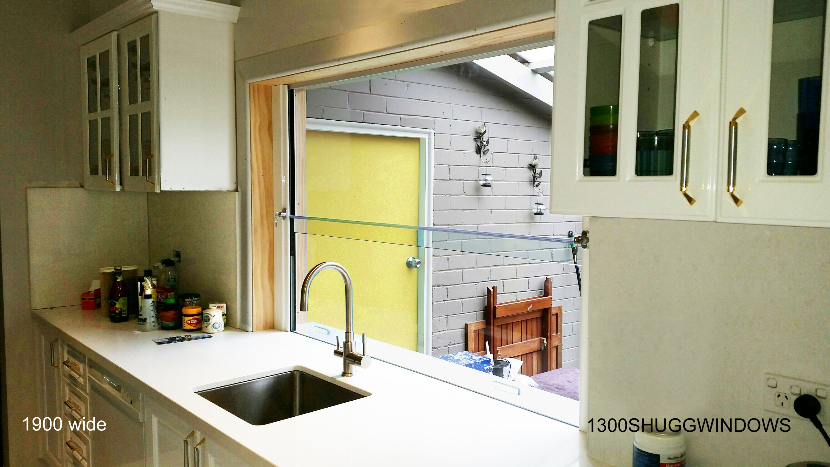 Kitchen windows shugg windowsshugg windows for Kitchen ideas no window